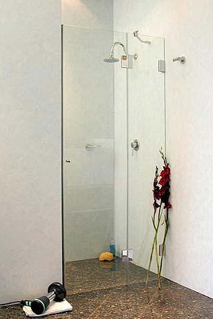Duschabtrennung glas nische  Duschtür Nische: Duschabtrennung aus Glas bis -40%, Lieferung 24h