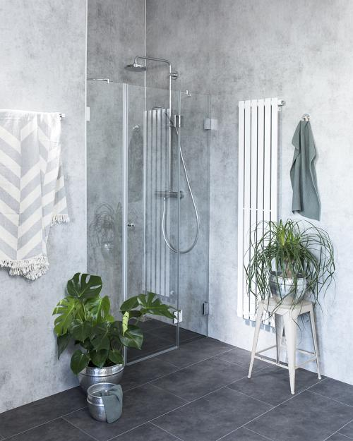 duschabtrennung f r nische ab 100 klarglas chrom h 195 combia a2n. Black Bedroom Furniture Sets. Home Design Ideas