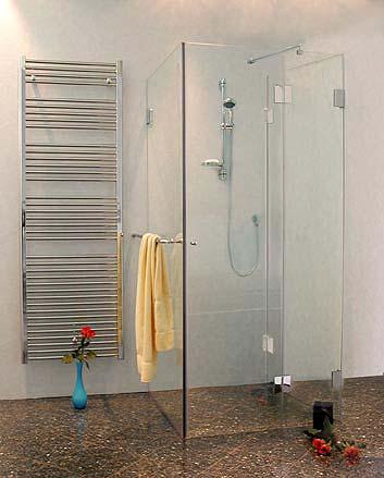 dusche 3 seiten glas stroyreestr. Black Bedroom Furniture Sets. Home Design Ideas