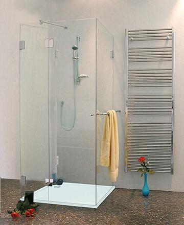 3 seiten u duschkabine dusche mit duschwanne klarglas chrom h 195cm combia au2s sl1080. Black Bedroom Furniture Sets. Home Design Ideas