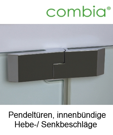eck dusche bodenebene ma e mit seitenwand 8mm glas chrom combia tbxs. Black Bedroom Furniture Sets. Home Design Ideas