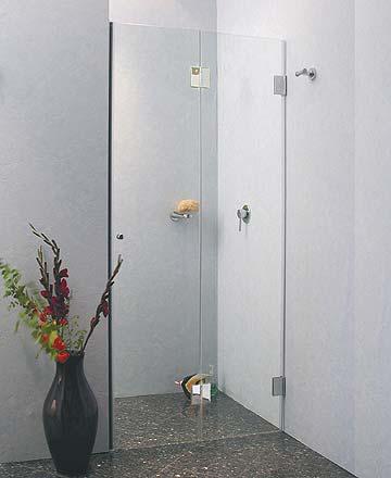 Duschabtrennung faltbar  Duschfalttür Glas: Duschkabine als Falttür Dusche. UVP bis -40%