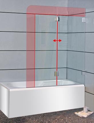 badewannenaufsatz glas nach ma duschabtrennung badewanne. Black Bedroom Furniture Sets. Home Design Ideas