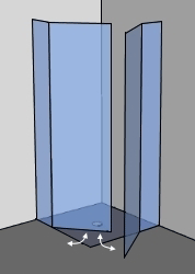 duschabtrennung glas 3000 varianten ab 149 in 24h geliefert. Black Bedroom Furniture Sets. Home Design Ideas