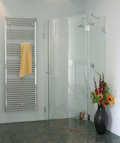 Combia 5 eck dusche duschkabine duschabtrennung duschwand for Fenster 70x90