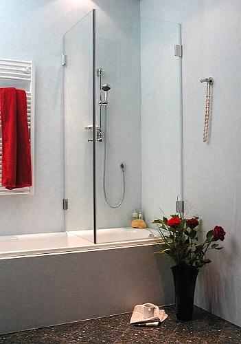 combia duschkabine auf badewanne dusche duschabtrennung glas h he 173cm awb ebay. Black Bedroom Furniture Sets. Home Design Ideas