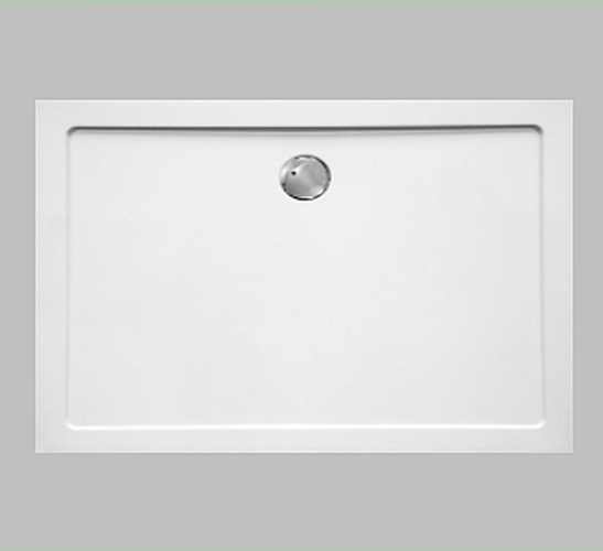 combia duschwanne duschtasse flach auch bodengleich 120x75cm wei sl1275e ws ebay. Black Bedroom Furniture Sets. Home Design Ideas