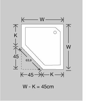 Dusche planen: Duschkabine & Duschwanne messen in 5min | {Duschwanne maße 32}