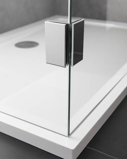 Bevorzugt Duschen Beschläge: Glas Scharniere und Befestigungen CI93