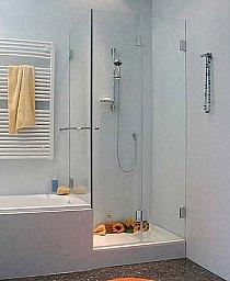 Badewanne Mit Duschwand.Duschkabine An Badewanne Dusche Neben Badewanne Auch Sondermass