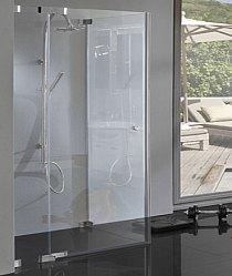 Duschkabine mit Pendeltür, Hebe-Senk Beschlag, 8 mm Glas rahmenlos