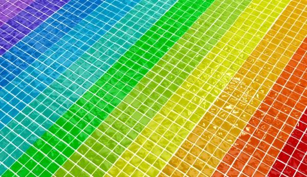 Bad Verschönern Mit Einfachen Tricks Ohne Sanierung - Farbige fliesen badezimmer