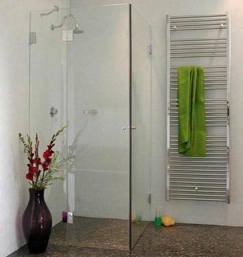 Moderne Glas Dusche