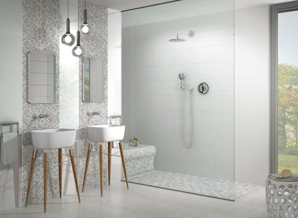 Fliesentrends 2016 holzoptik struktur mosaik oder xxl for Inspirationen badezimmer im landhausstil