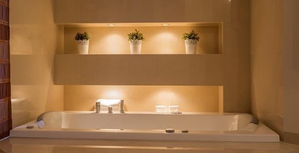 LED Beleuchtung, Indirekte Beleuchtung im Bad Licht mit
