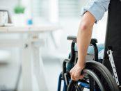 Bewegungsfreiheit für Rollstuhlfahrer