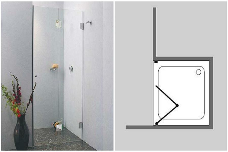 welche art von duscht r passt zu ihnen und ihrem bad. Black Bedroom Furniture Sets. Home Design Ideas