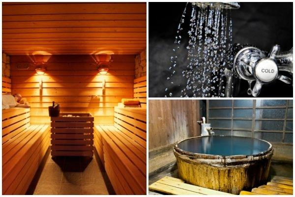 duschen nach der sauna wie sauniert man eigentlich richtig. Black Bedroom Furniture Sets. Home Design Ideas