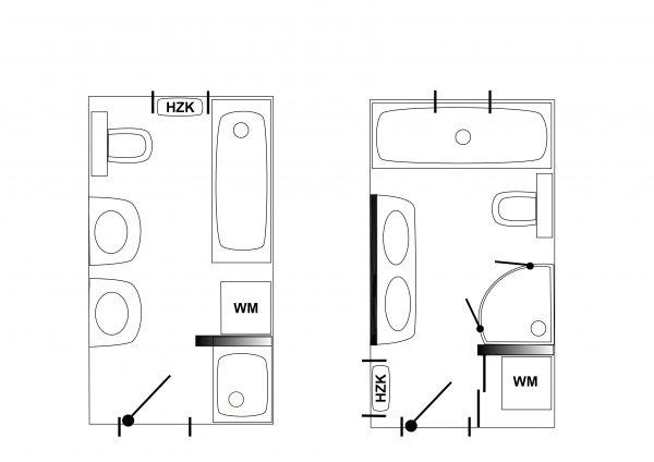schematische Darstellung eines Bades