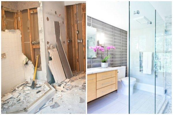 ablauf einer badsanierung tipps wie sie die badsanierung. Black Bedroom Furniture Sets. Home Design Ideas