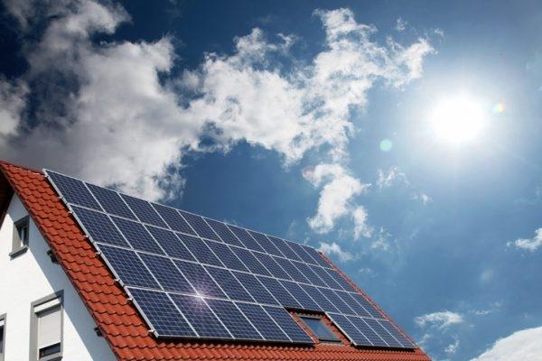 Sonnenkollektoren für Heizenergie
