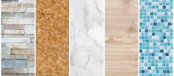 Unterschiedliche Materialien Fürs Bad