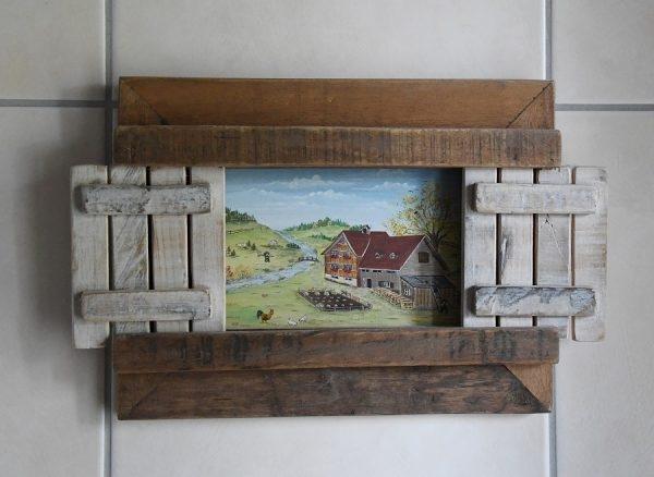 Bauernmalerei auf Holz