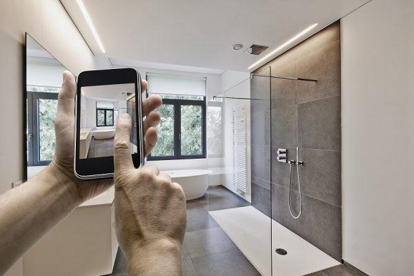 smartes Badezimmer