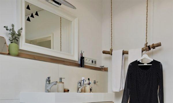 Jennys Waschbecken-Bereich