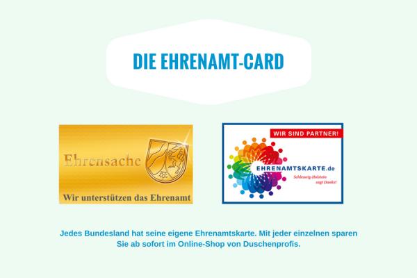 Ehrenamtskarten NRW und Schleswig-Holstein