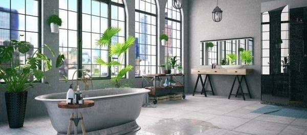 Badewanne Und Fliesen Aus Naturstein