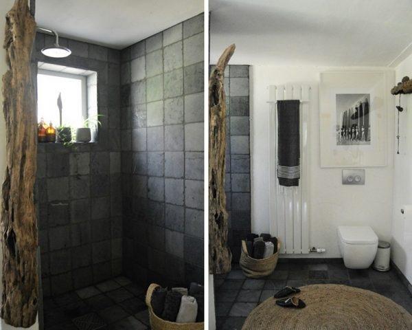 Dusche und Badboden aus Naturstein