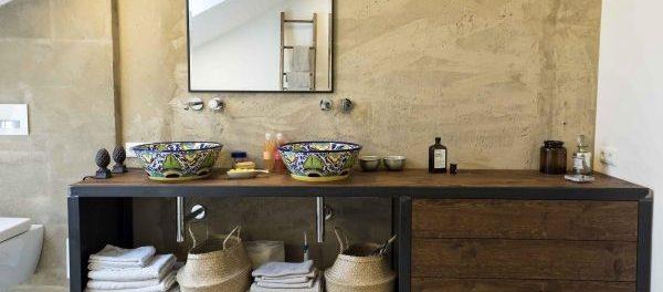 Mexikanische Badezimmer: Moderner Stil trifft mexikanische Fliesen