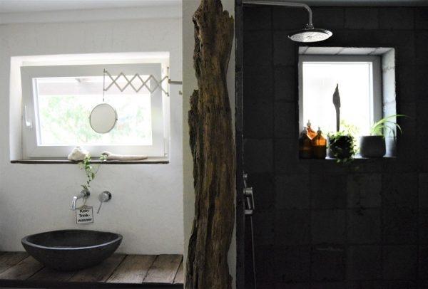 DIY-Waschplatz und Dusche von Schön Tacheles