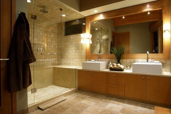 Richtige Badezimmerbeleuchtung