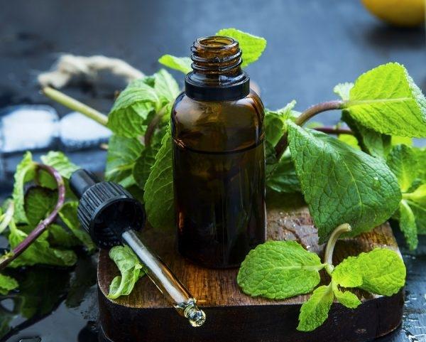 Ätherisches Öl in Pipettenflasche