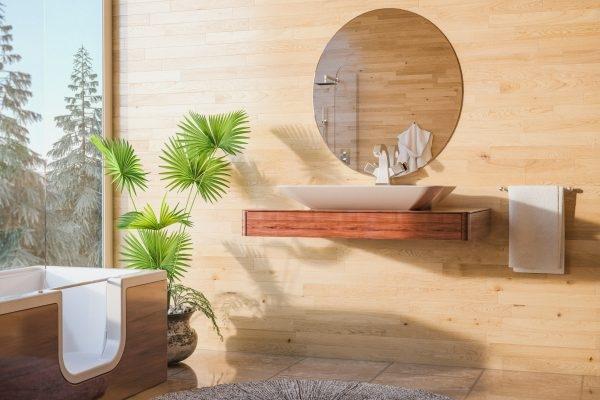 Feng-Shui im Badezimmer: Das bedeuten Farben, Wasser & Spiegel