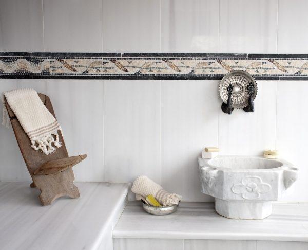 orientalisches bad mit marmor