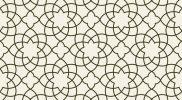 Fliese mit arabischem Muster