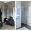 Modernes Badezimmer-Design mit Nischendusche