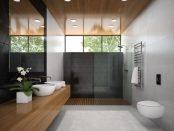 uschwand als Alternative zum Duschvorhang