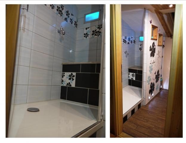 Von:  Bin zwar kein Profifotograf aber alle Badbenutzer in der Wohnung freuen sich täglich über den tollen Einbau :-) Weihnachtliche Grüße an das Duschenprofiteam, Andreas