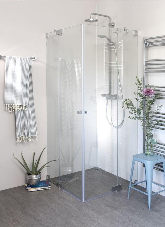 Pendeltür Duschen
