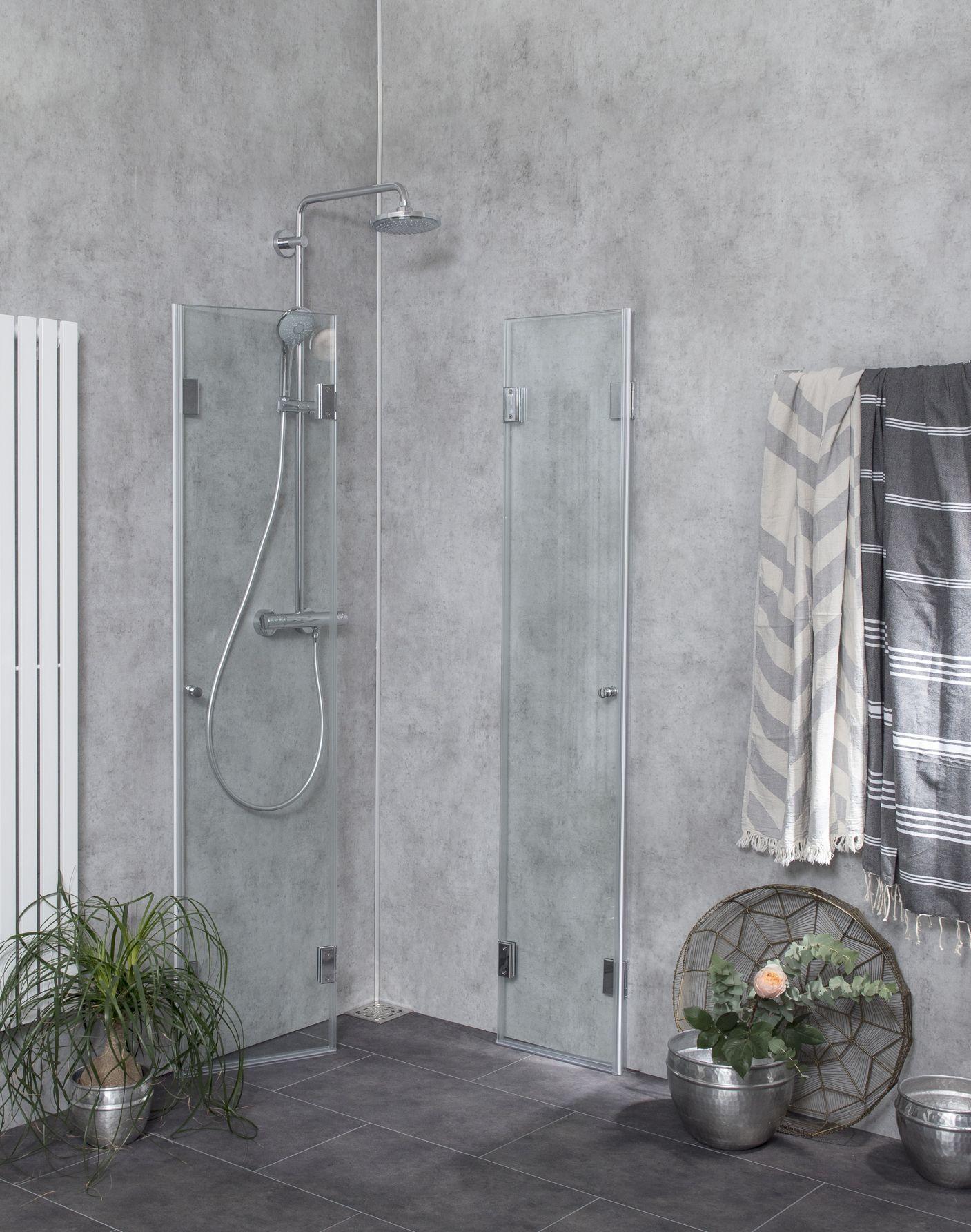 Kleines Bad einrichten Mehr Platz mit Dusche zum Wegklappen & Co.