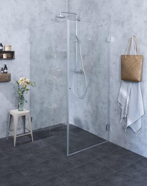 Bodengleiche Dusche mit befliesbarem Duschelement
