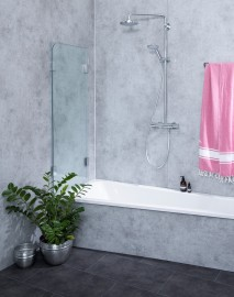 Wegklappbare Duschen