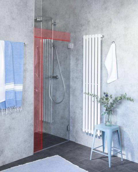 Duschtür Sonderanfertigung für Nische