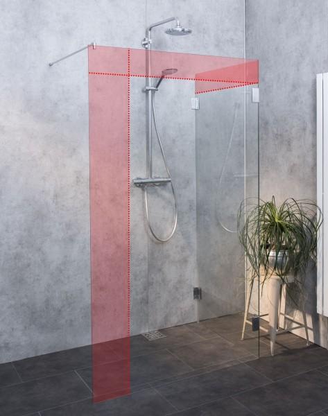 Glaswand Dusche Walk-in Sondermaß