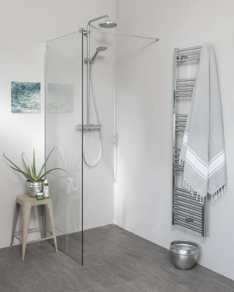 Glaswand Dusche alleinstehend H=200cm
