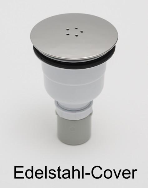 Duschwannenablauf vertikal Siphon senkrechter Duschwannen Ablauf D=90mm